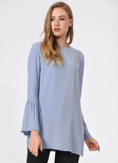 Mizalle Bluz Mavi